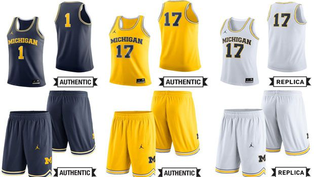 best service 5e227 0cf3d Michigan's New Jumpman Basketball Uniforms Appear To Have ...