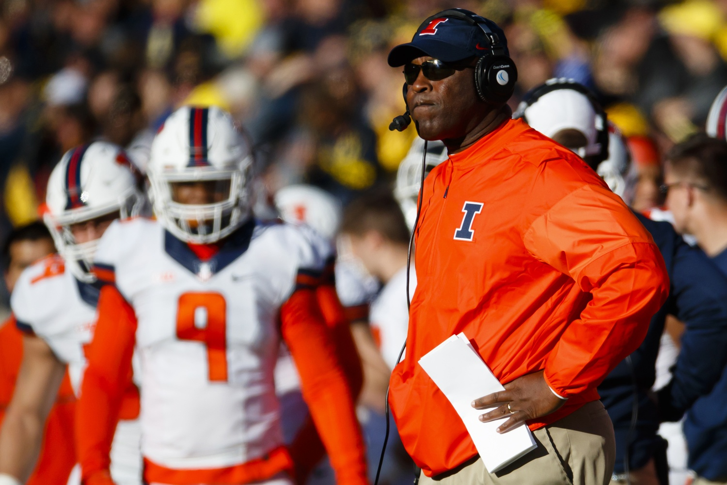 lovie smith illinois
