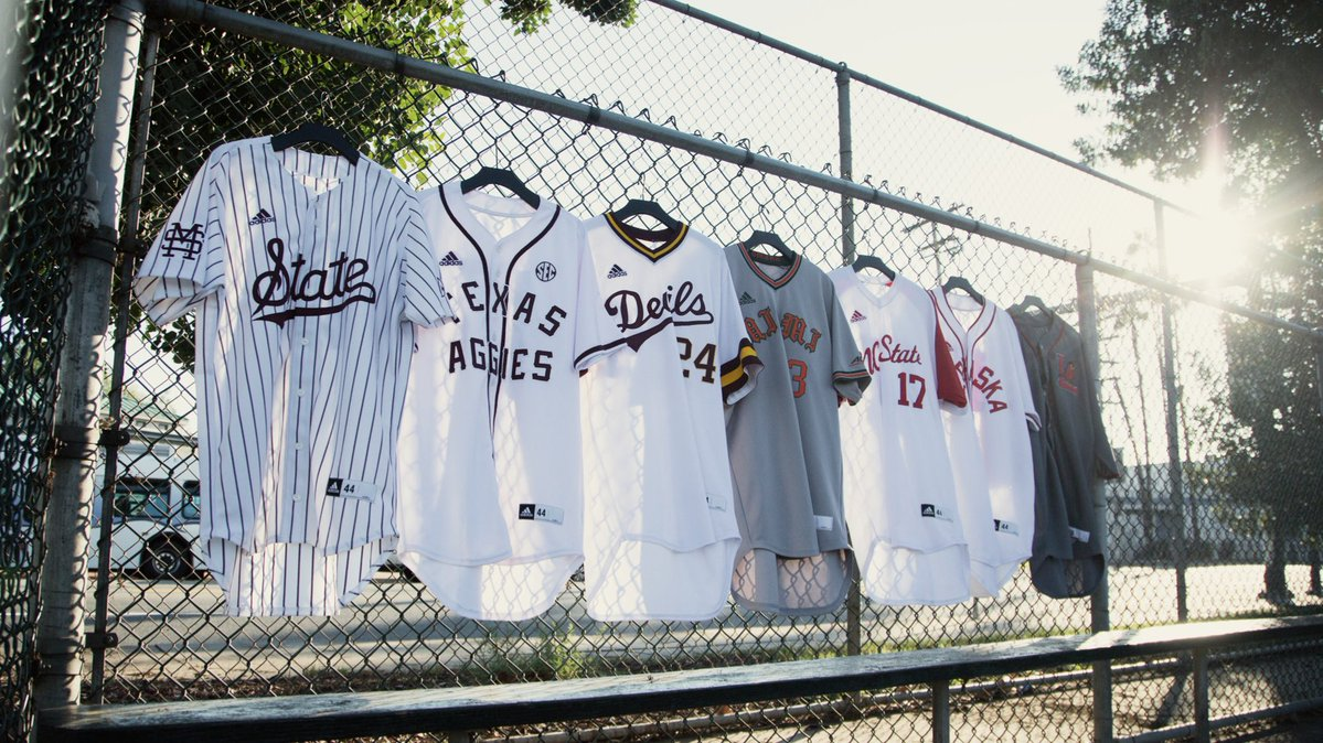 d91440a28 Ranking the adidas baseball heritage uniform collection that has fully been  released prior to college baseball season.