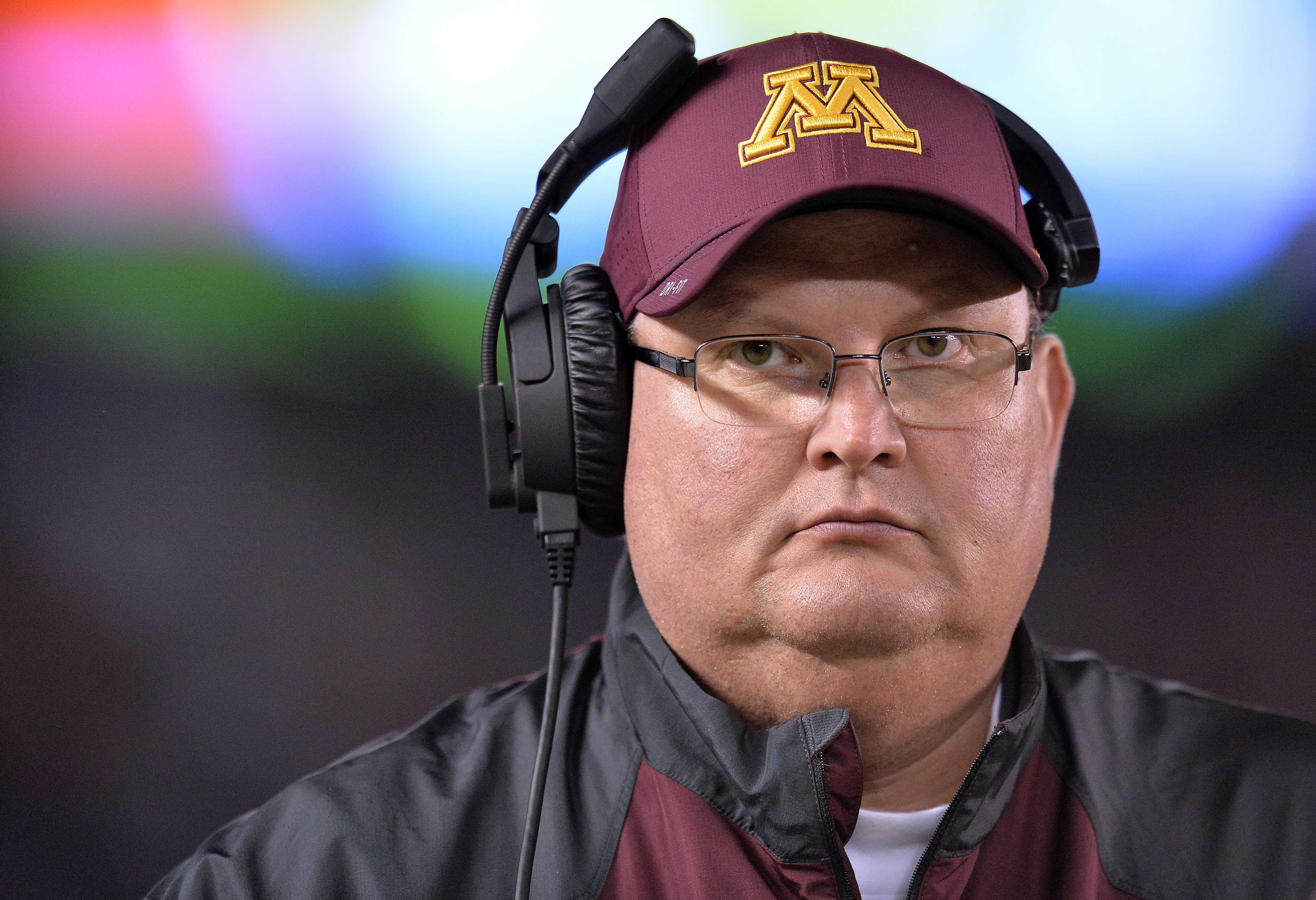 fire gophers coach tracy - HD4200×2872