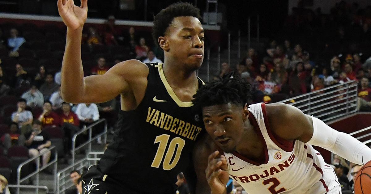 Vanderbilt's Darius Garland to Miss Rest of Season