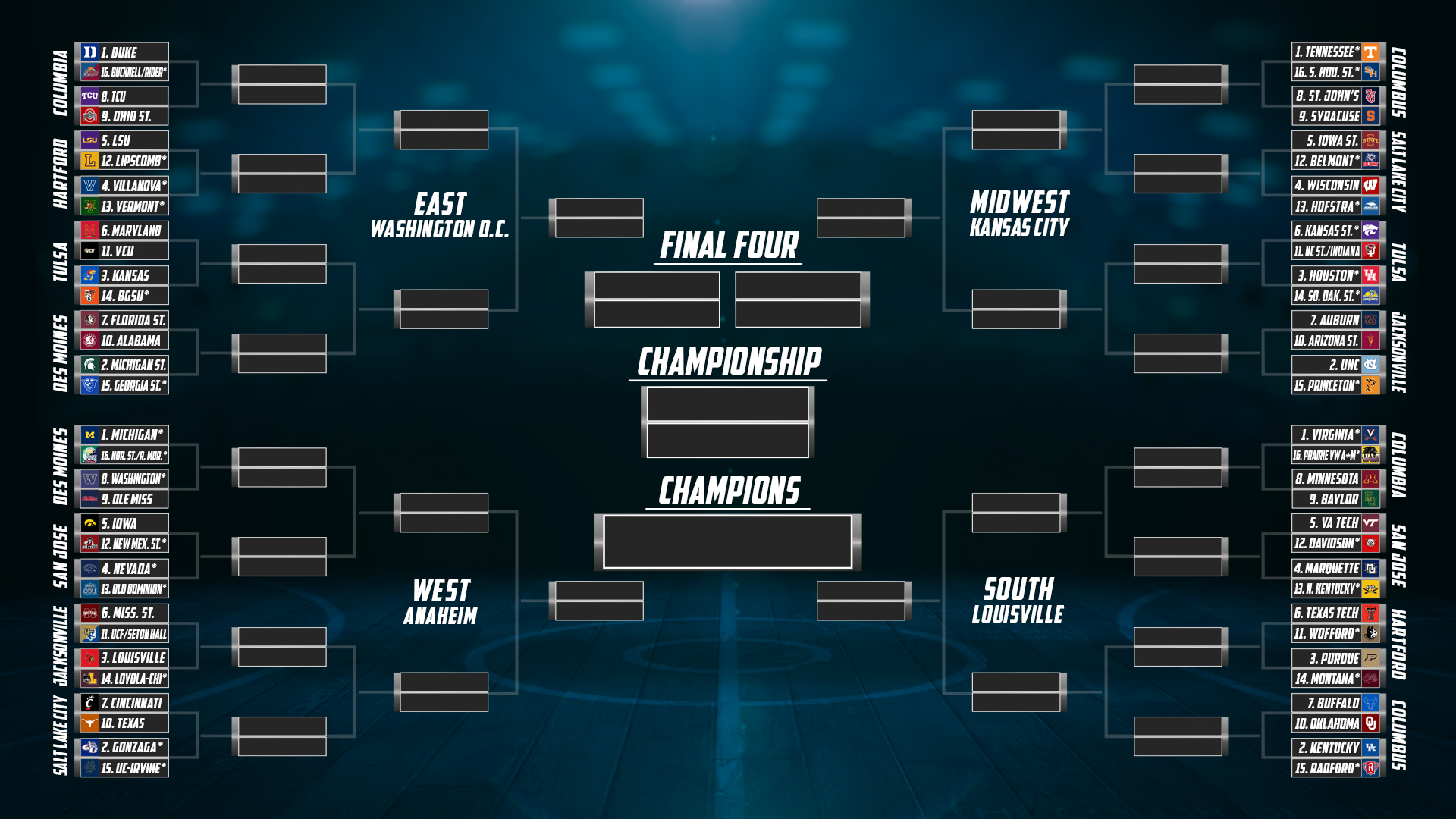 a5eb2ffb2f1 On Saturday, the NCAA selection committee will unveil the top 16 teams in  the bracket as they stand through Friday. The committee began meeting on  Tuesday ...