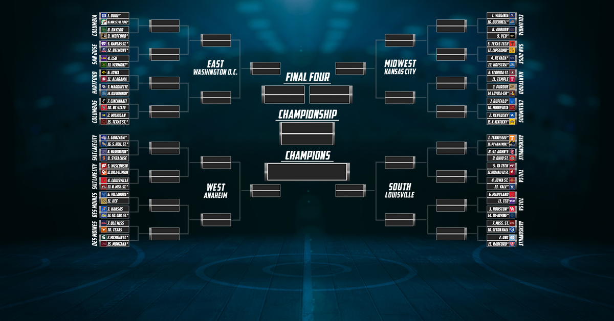 Stadium's NCAA Tournament Projections – Friday, Feb. 15