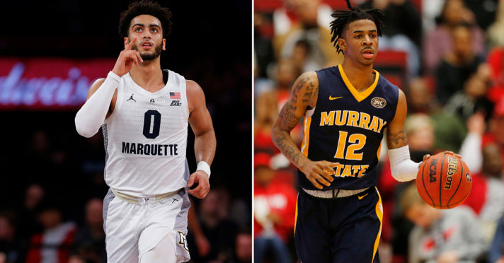 Previewing No. 5 Marquette vs. No. 12 Murray State: Date, Time, Players to Watch