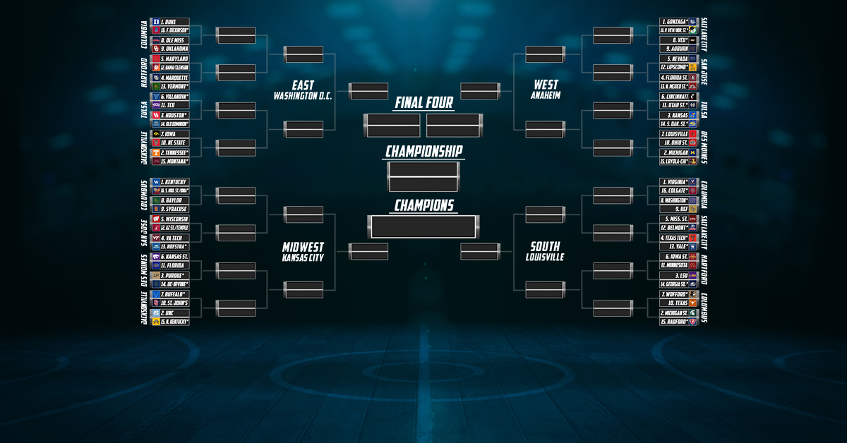 Stadium's NCAA Tournament Projections – Monday, March 4