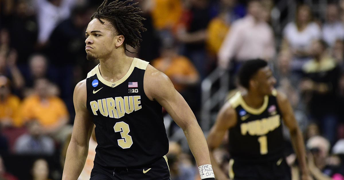 80e0c10bcf4f Purdue s Carsen Edwards Cements Status as March Legend With Elite Eight  Performance - Stadium
