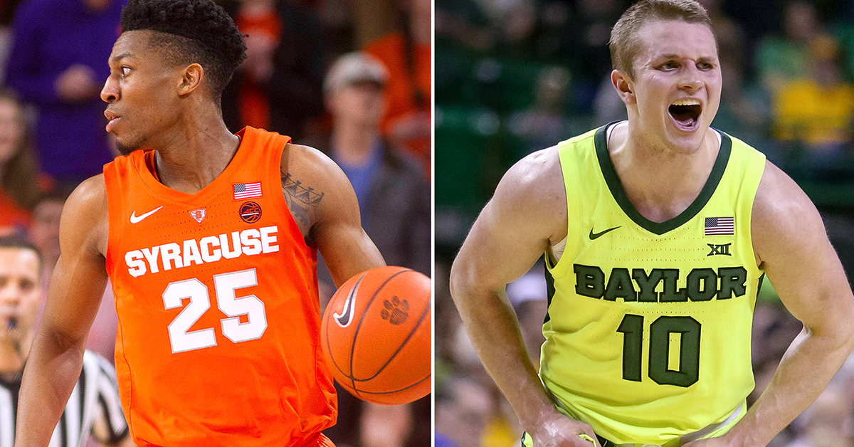Baylor Vs Syracuse Betting Odds Preview: Previewing No. 8 Syracuse Vs. No. 9 Baylor: Date, Time
