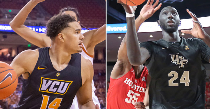 Previewing No. 8 VCU vs. No. 9 UCF: Date, Time, Players to Watch