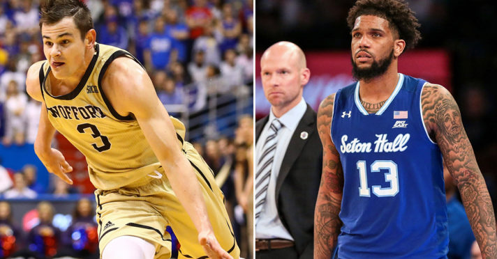 Previewing No. 7 Wofford vs. No. 10 Seton Hall: Date, Time, Players to Watch