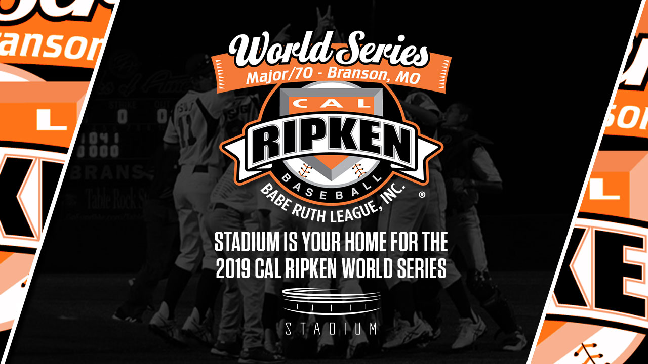 STADIUM BECOMES EXCLUSIVE HOME FOR 2019 CAL RIPKEN MAJOR/70 WORLD