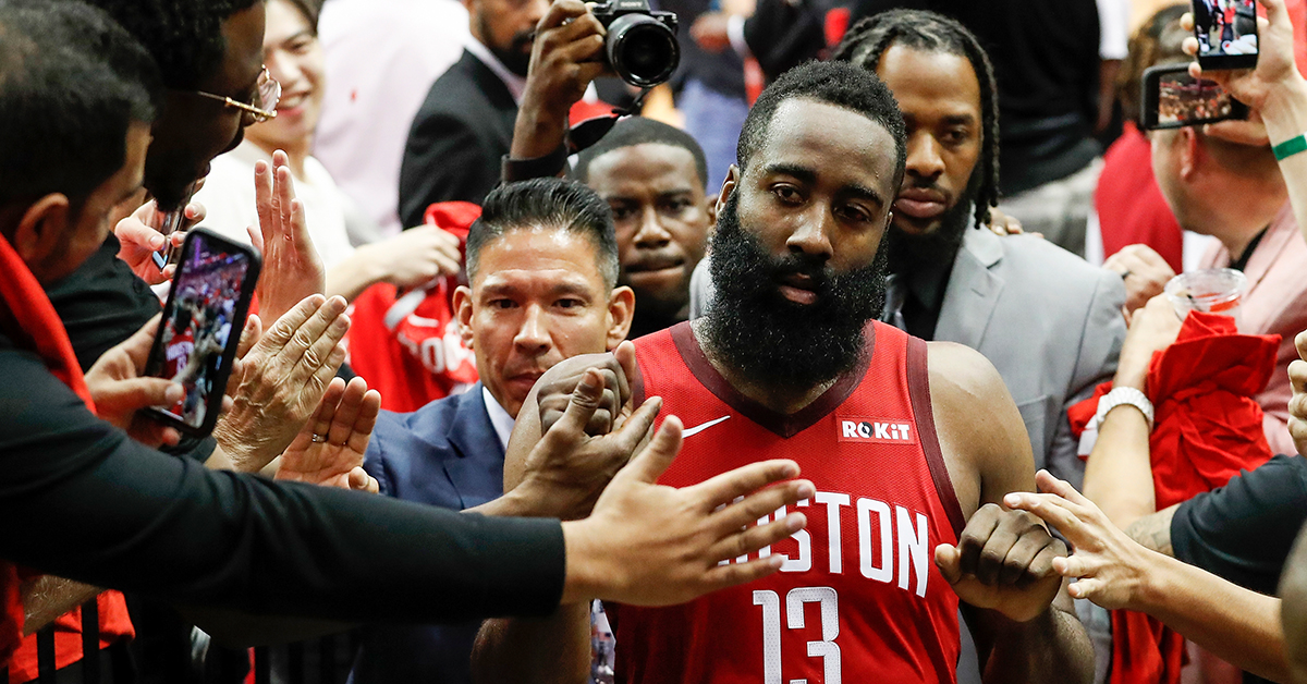 James Harden Re-Emerges at Home to Help Rockets Level Series