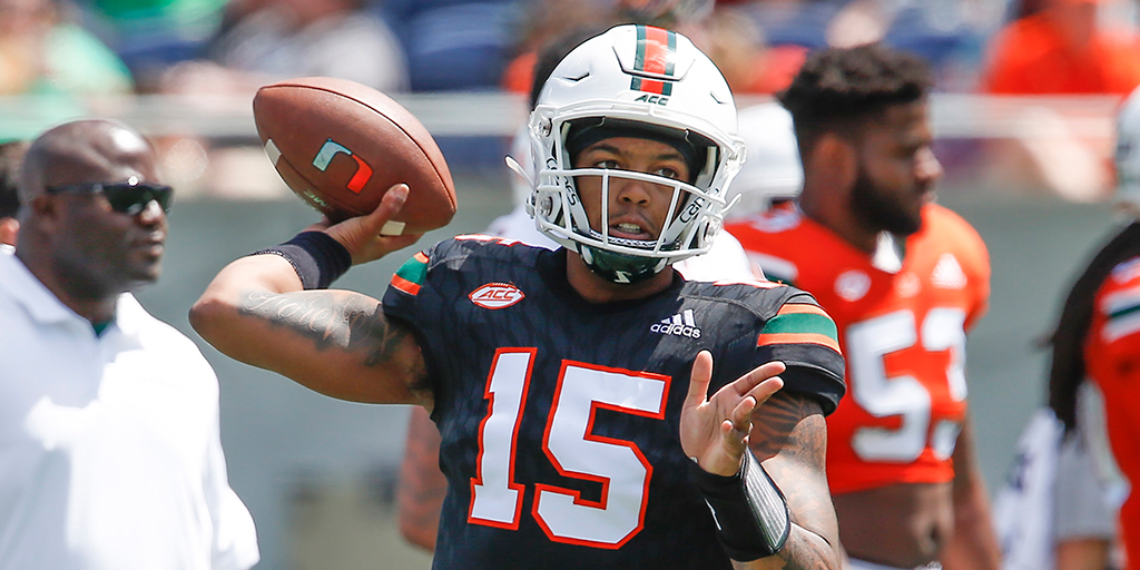 Miami Surprisingly Names Jarren Williams Starting QB Over Tate Martell