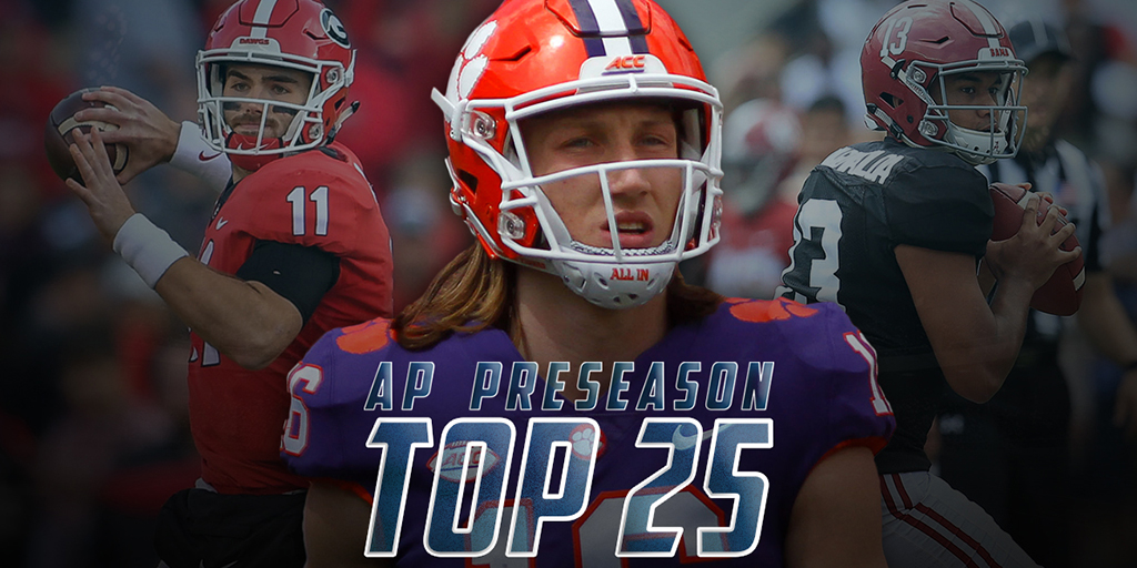 Brett McMurphy's Instant Reactions to the AP Preseason Top 25 Poll