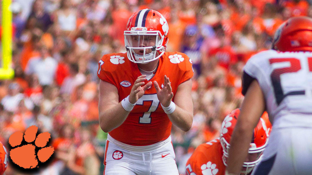 Clemson QB Chase Brice Leads Game-Winning Drive Over Syracuse