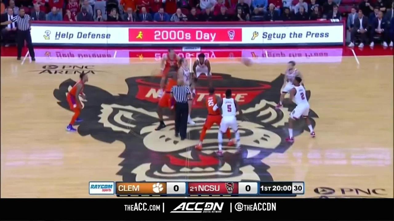 Clemson Vs North Carolina State Condensed Game 2018 19 Acc Basketball