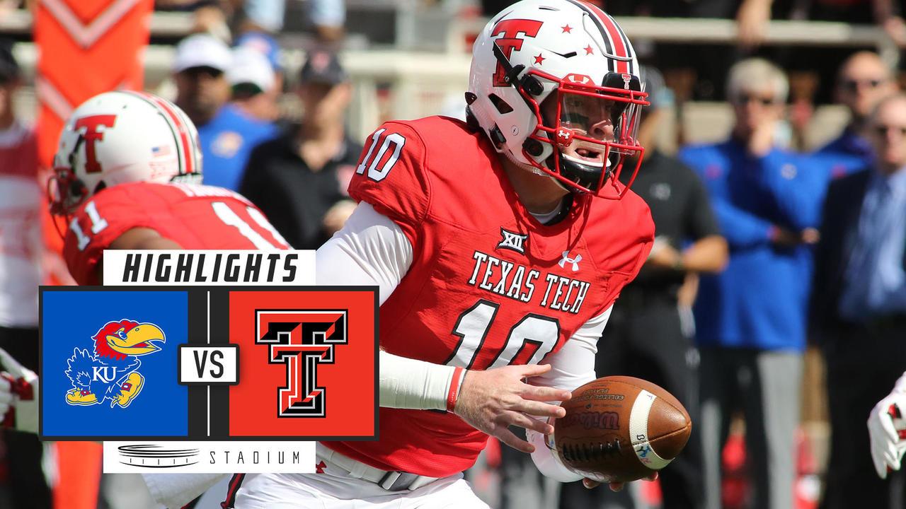 Kansas Vs Texas Tech Football Highlights 2018 Stadium