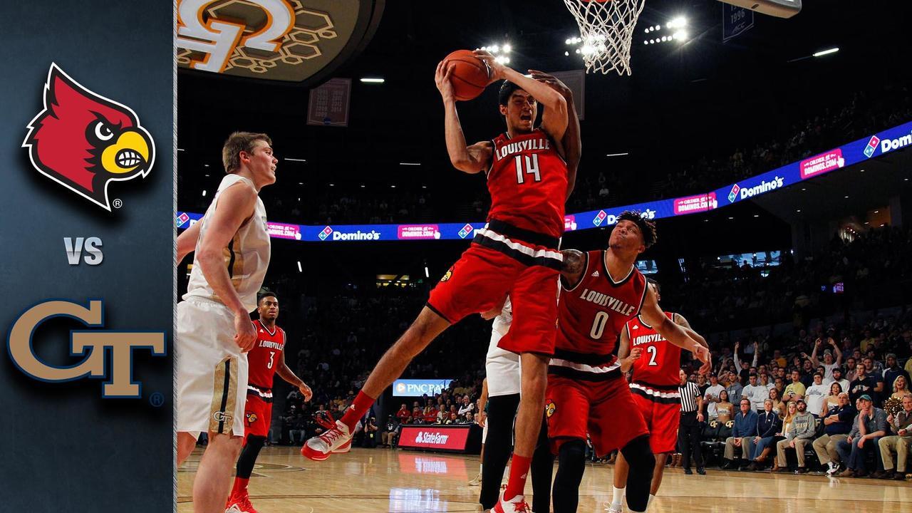Louisville Vs Georgia Tech Basketball Highlights 2015 16 Stadium