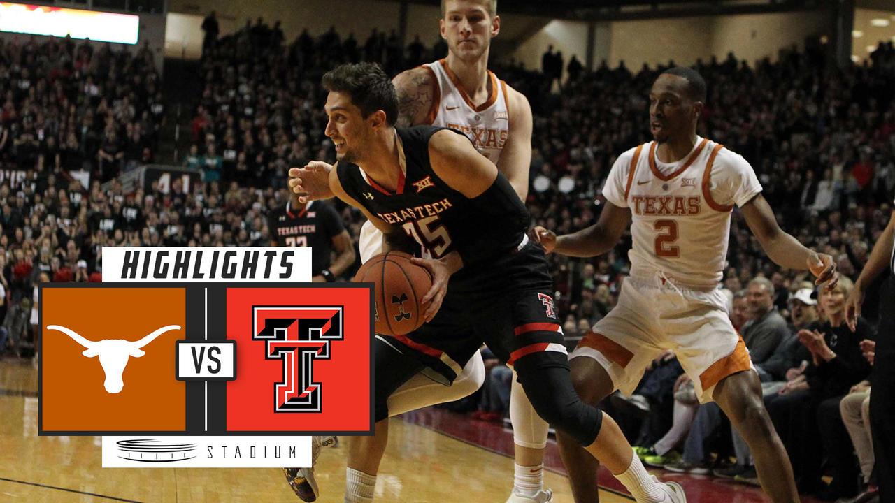 No 8 Texas Tech Vs Texas Basketball Highlights 2018 19 Stadium