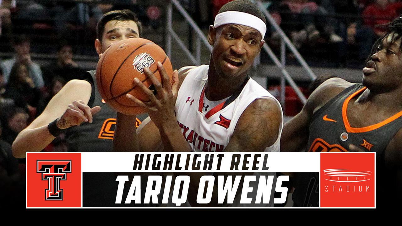 Tariq Owens Texas Tech Basketball Highlights 2018 19 Season Stadium