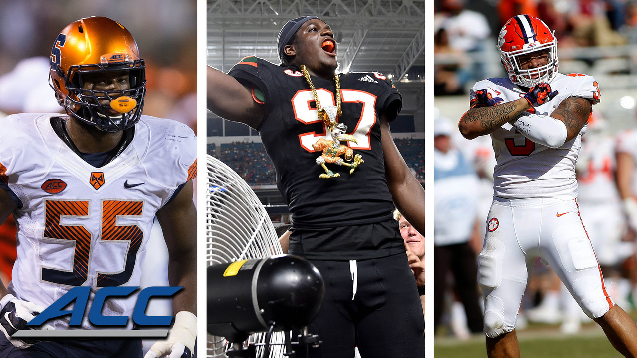 Top 3 Defensive Line Units In The ACC - Stadium