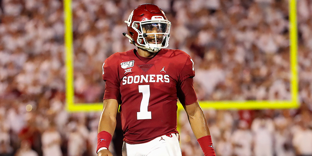 Here's How Oklahoma's Offense With Jalen Hurts Compares to Baker Mayfield & Kyler Murray