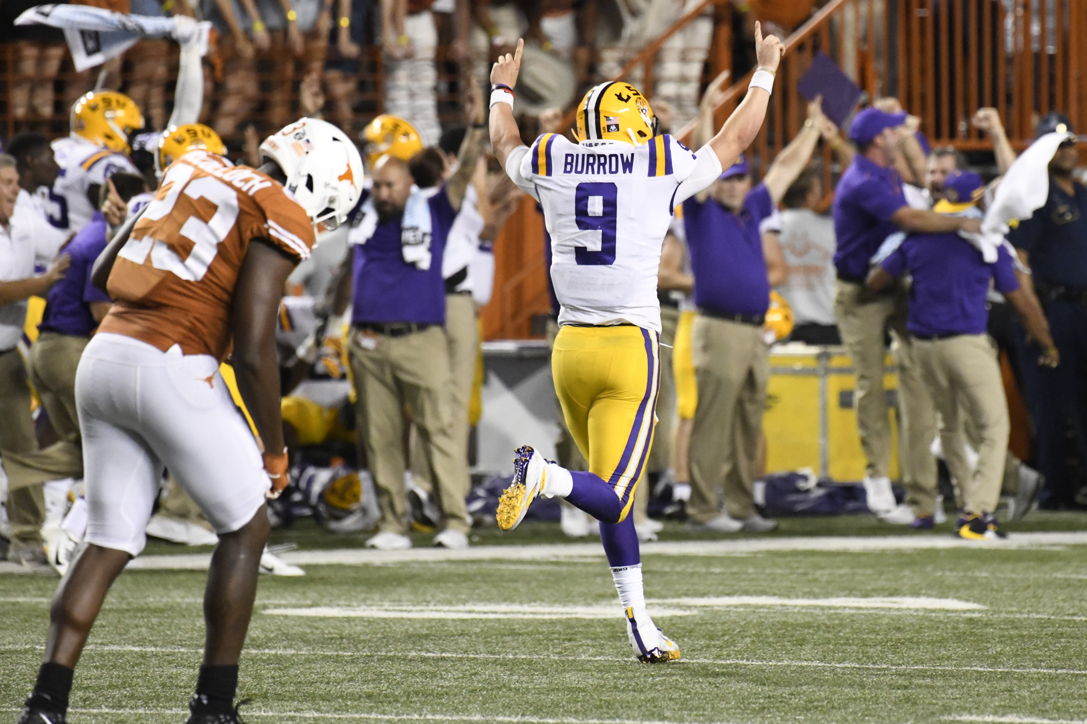 Brett McMurphy's AP Top 25 Ballot for Week 3: LSU and Cal leap, Michigan falls