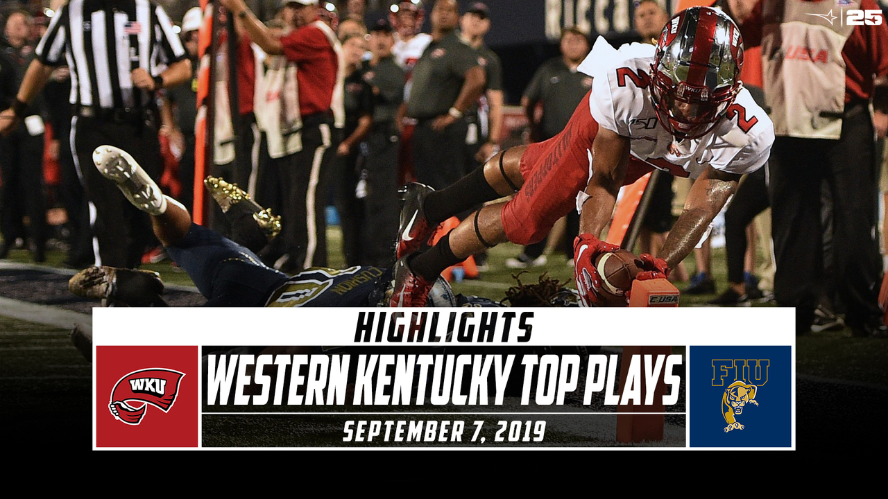 Western Kentucky Football Top Plays vs. FIU (2019) - Stadium