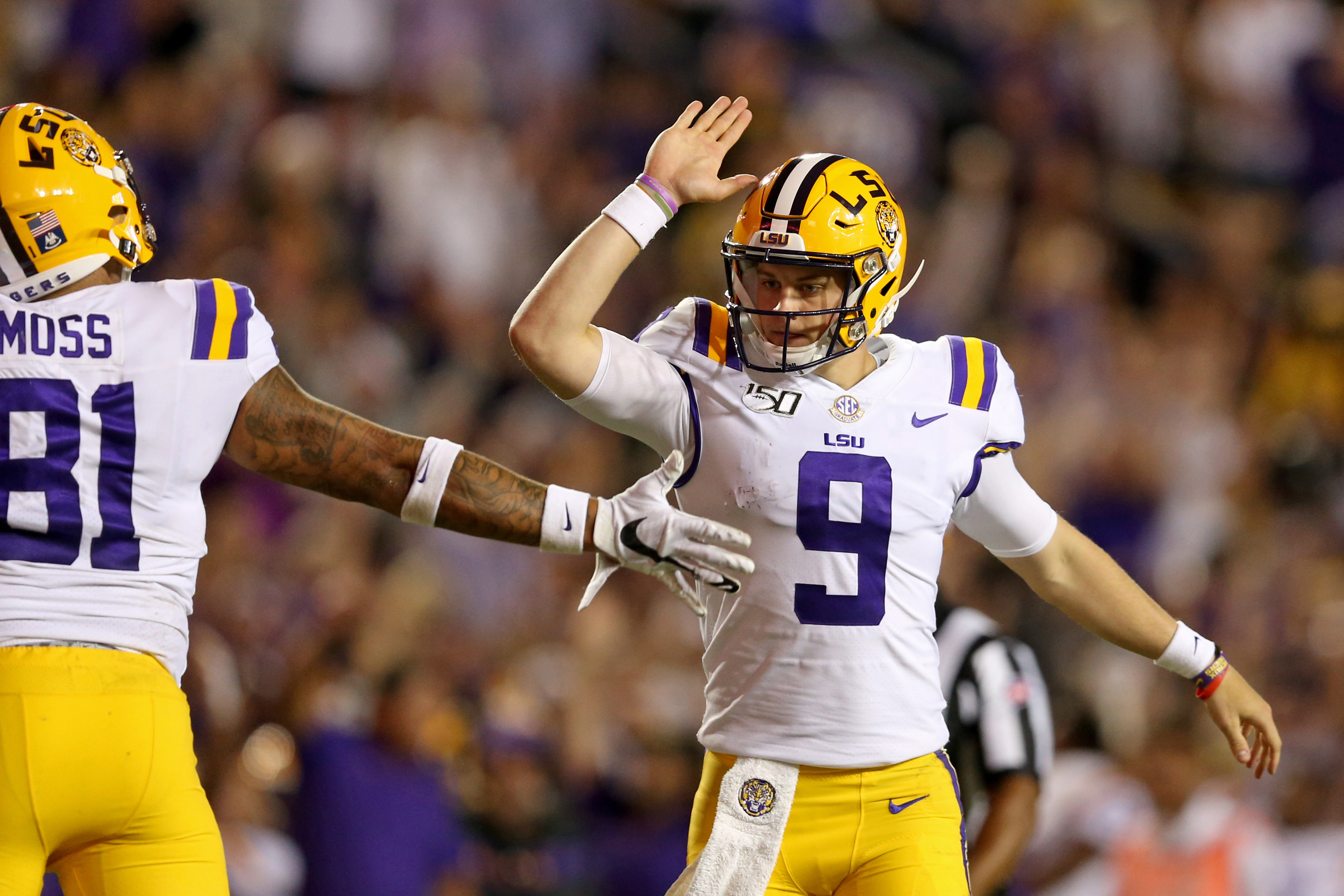 Brett McMurphy's AP Top 25 Poll for Week 8: LSU is New No. 1 Team