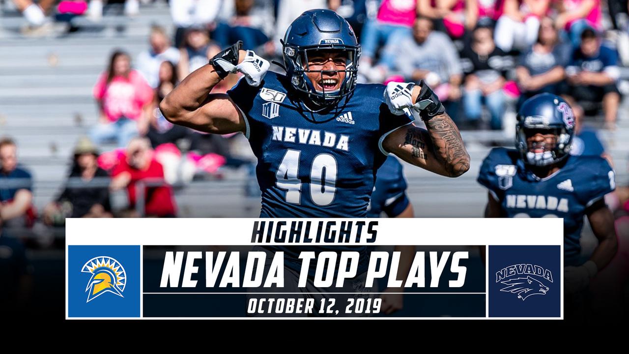 Nevada Football Top Plays Vs San Jose State 2019 Stadium