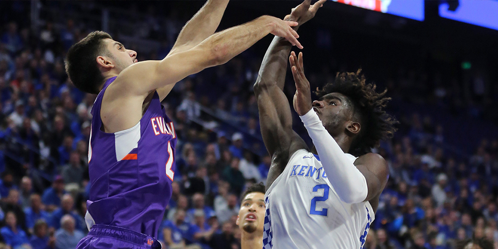 Sam Cunliffe's Crazy Path to Evansville Leads to Upset Win Over Kentucky