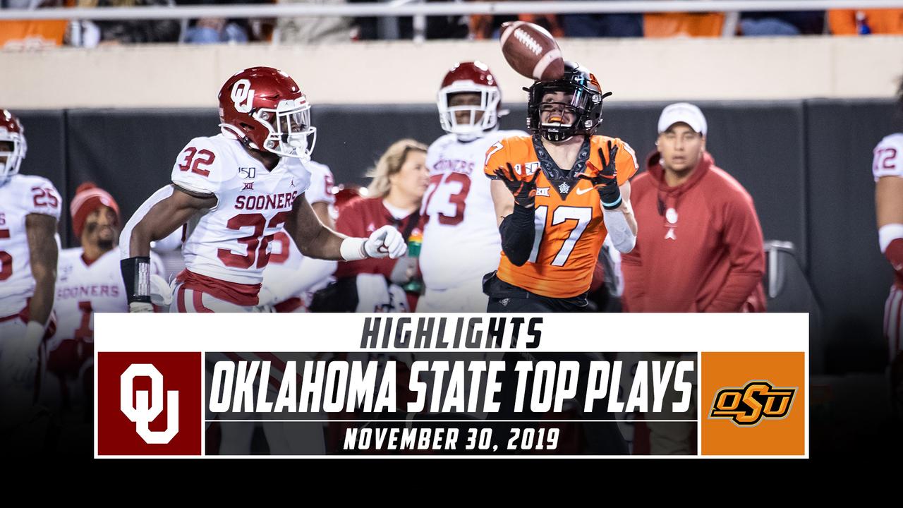 No. 21 Oklahoma State Football Top Plays vs. No. 7 ...