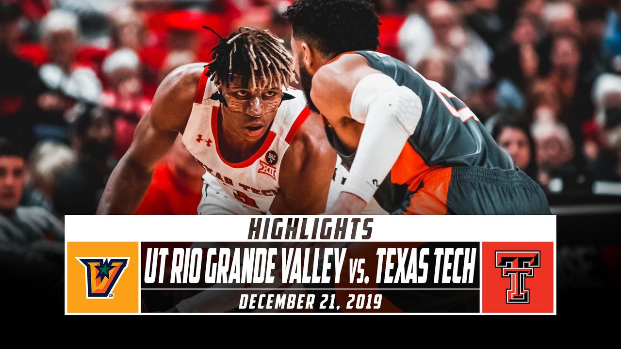 UT Rio Grande Valley vs. No. 24 Texas Tech Basketball ...