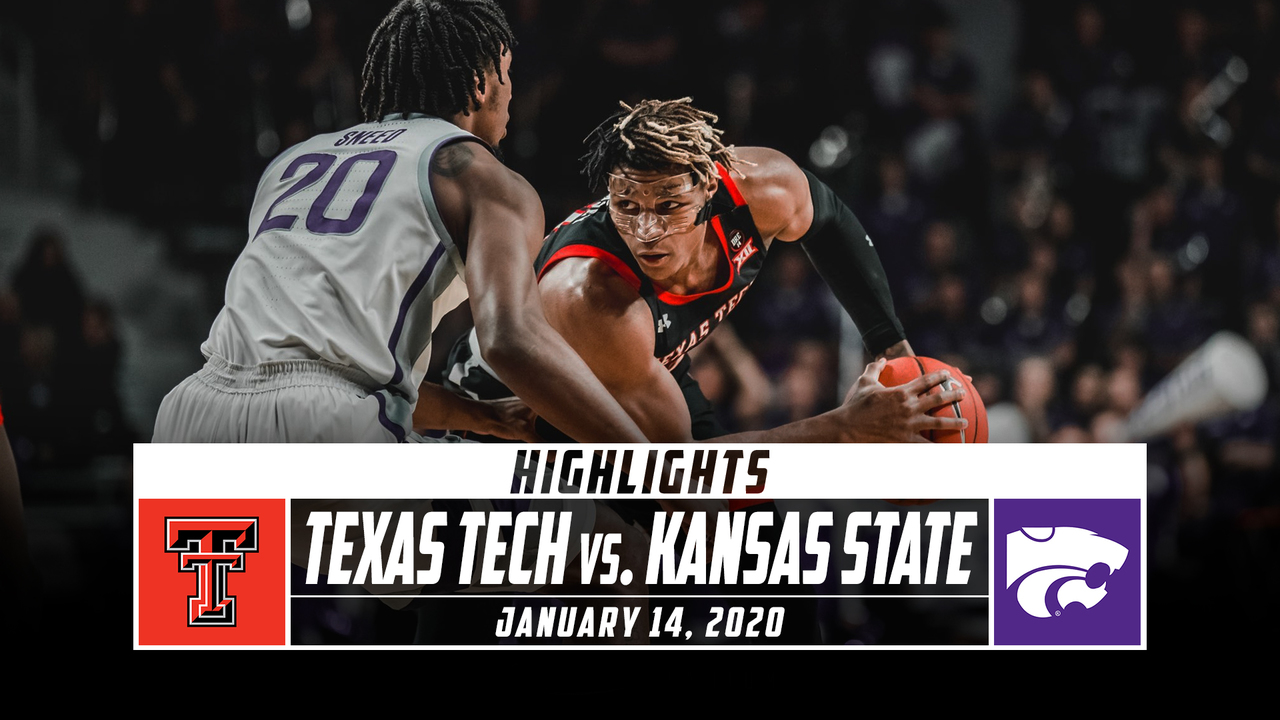 No 23 Texas Tech Vs Kansas State Basketball Highlights 2019 20 Stadium