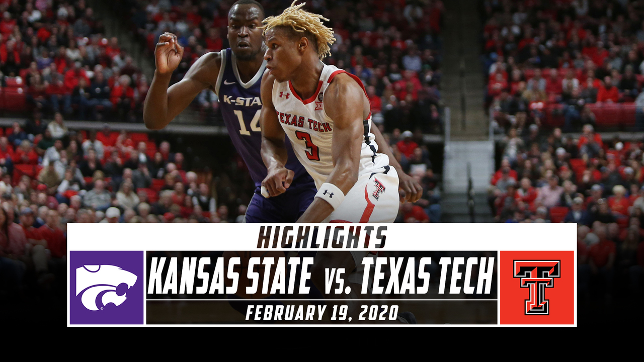 Kansas State Vs Texas Tech Basketball Highlights 2019 20 Stadium