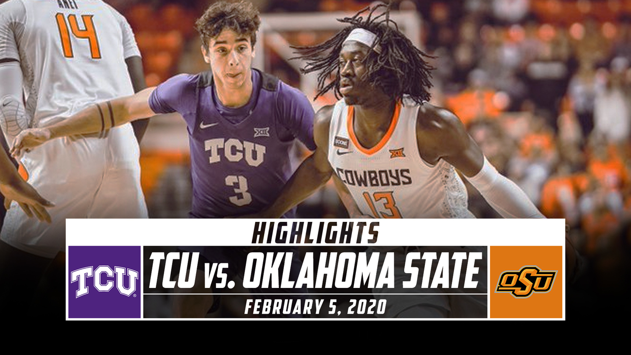 TCU vs. Oklahoma State Basketball Highlights (2019-20 ...