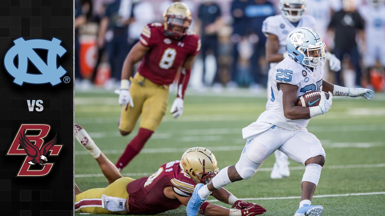 North Carolina Vs Boston College Football Highlights 2020 Stadium