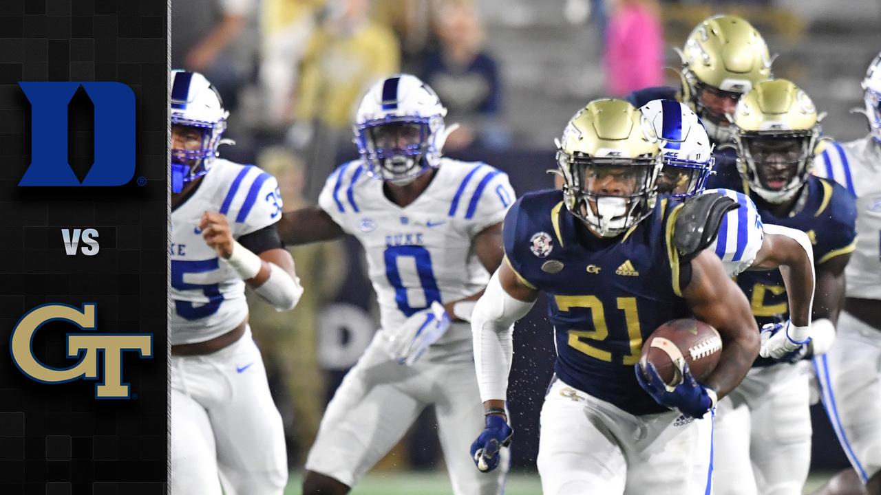 Duke Vs Georgia Tech Football Highlights 2020 Stadium