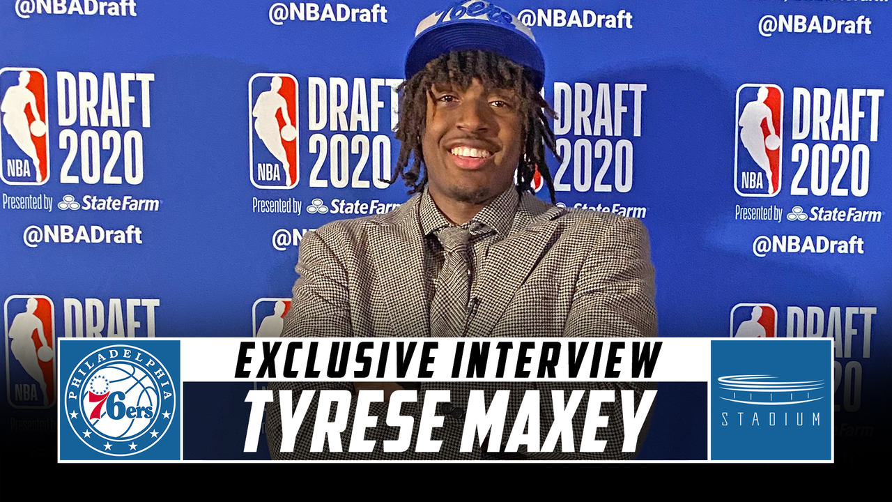 Tyrese Maxey Reflects On His Draft Night Experience And Joining The 76ers Stadium