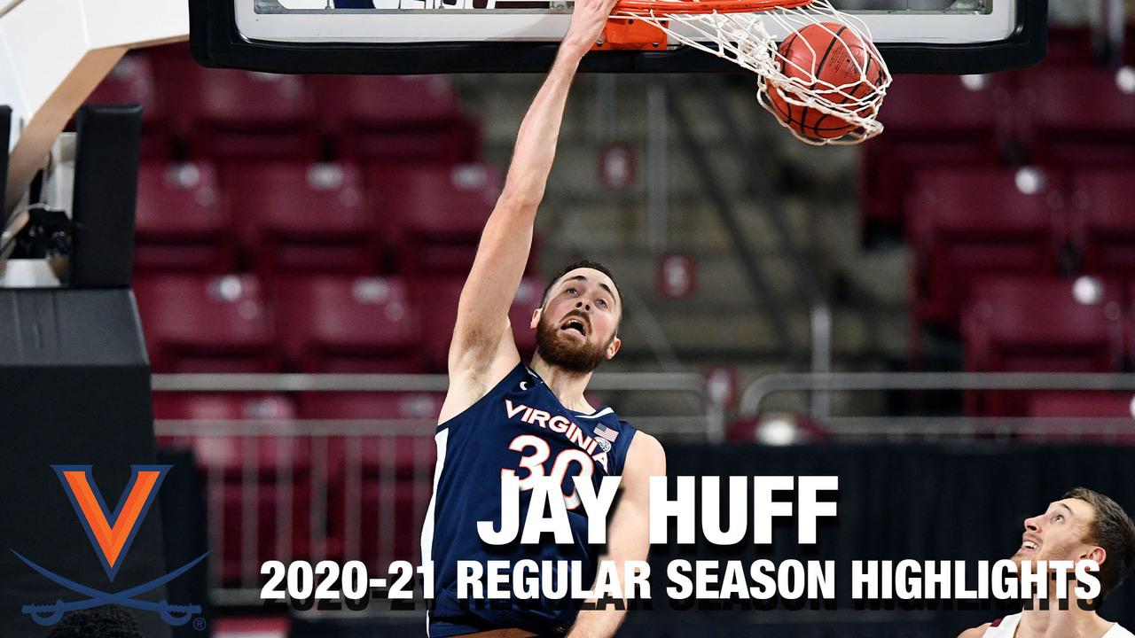 Jay Huff 2020-21 Regular Season Highlights | Virginia Forward